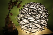 Bird's Nest Lamp