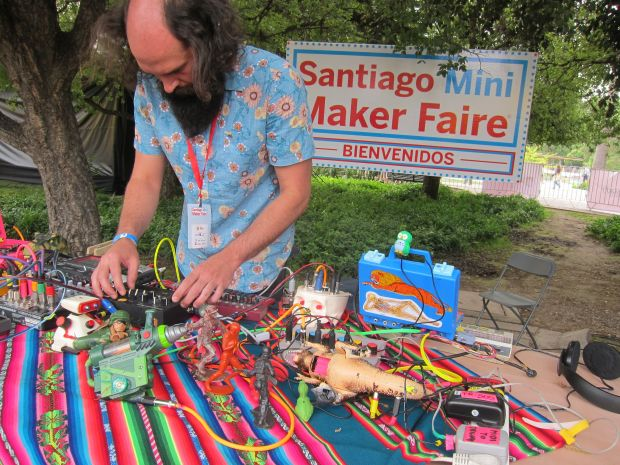 Jorge Crowe from Argentina and his toy circuit bending