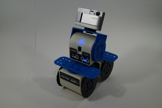 Adding a camera to a Linkbot.