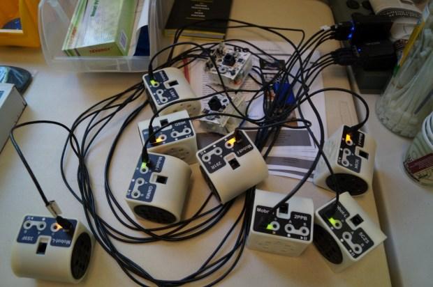 Barobo modular Linkbots.