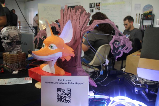 What the Fox Say? #MAKERFAIRE of course!