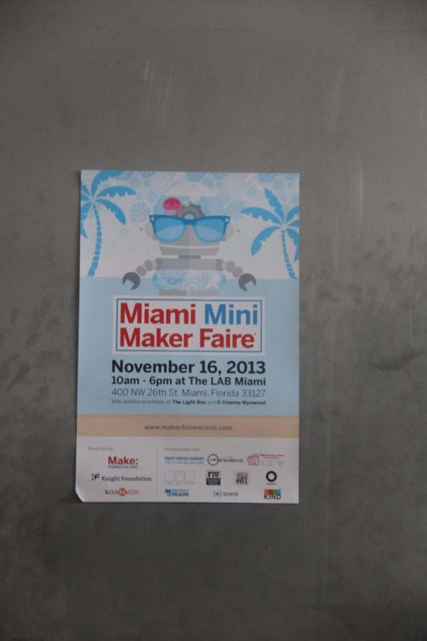 We had a great time at Miami Mini Maker Faire 2013 and can't wait to see what this team creates for 2014!