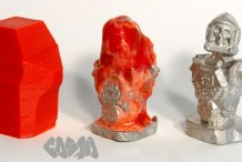 Metal Casting with Your 3D Printer