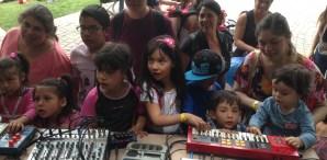 Burnkit2600 Makes Some Noise at the Santiago Mini Maker Faire
