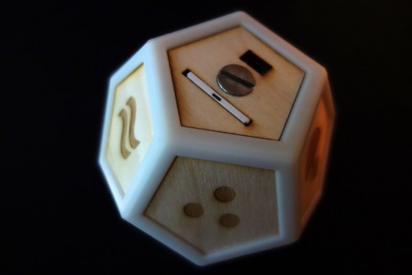 """Prototype of a Philips Hue lighting control system called """"DOD"""" by Jay Zehngebot."""