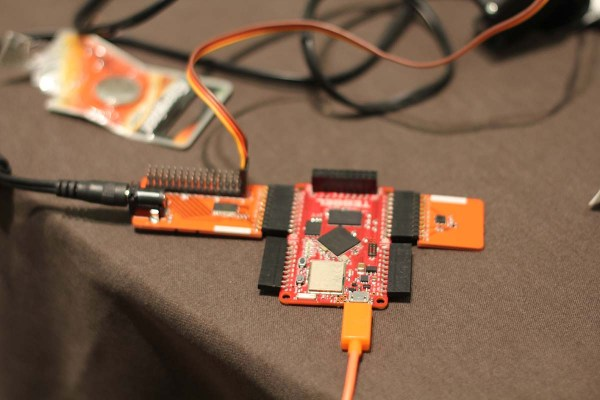 You program the Tessel with JavaScript - the language of choice for many RobotsConf attendees.