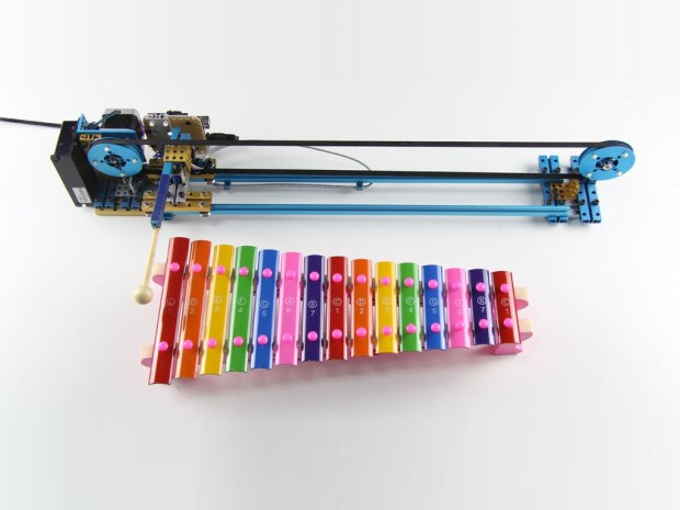 Read more >> Robot-Assisted xylophone from MakeBlock.