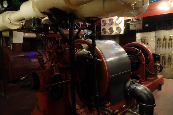 Pratt Institute Engine Room