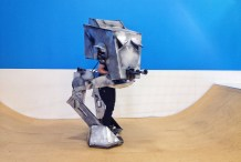 Building a Fully Animated AT-ST costume