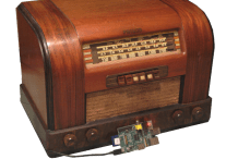 The Connected Home: Raspberry Pi Radio Time Machine