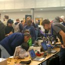 The Makerspace Workbench at the NoVa Mini Maker Faire