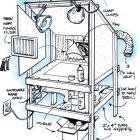 Toy Inventor's Notebook: Stairwell Spray Booth