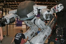 Building Up to Maker Faire, Shawn Thorsson Brings ED-209 to Life: The Grand Reveal