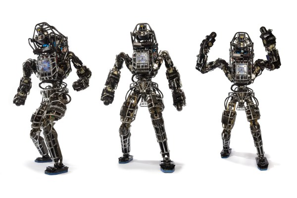 This towering 6-foot biped is the latest from Boston Dynamics, makers of such frighteningly biomorphic bots as BigDog and Cheetah. With the introduction of Atlas, the Massachusetts-based military contractor lumbers a few steps closer to Terminator-style weaponized androids. Atlas has 28 hydraulic-actuated degrees of freedom, plus fully articulated hands to allow not just the lifting and carrying of objects, but the use of tools designed for humans. It can even climb with its hands and feet. Currently, Atlas is powered by a cable to an external supply. No word on when it's going to be upgraded to onboard power.