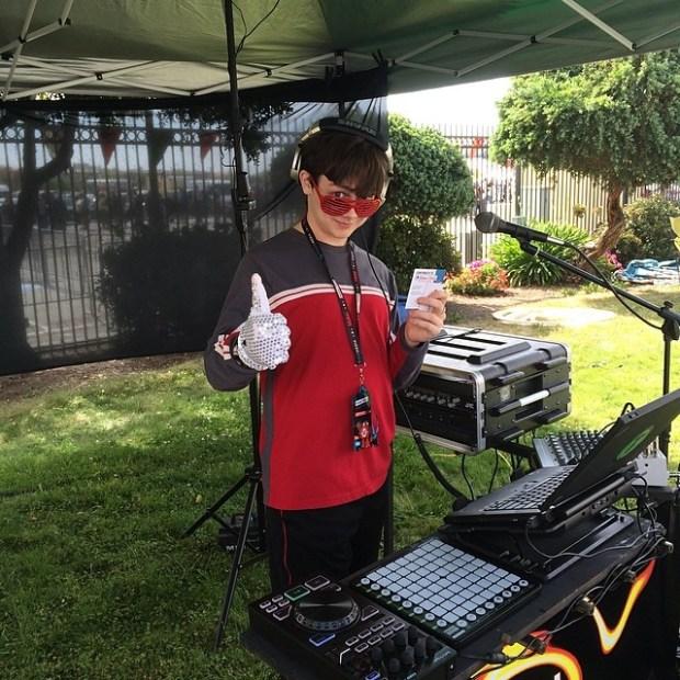 DJ'ed up