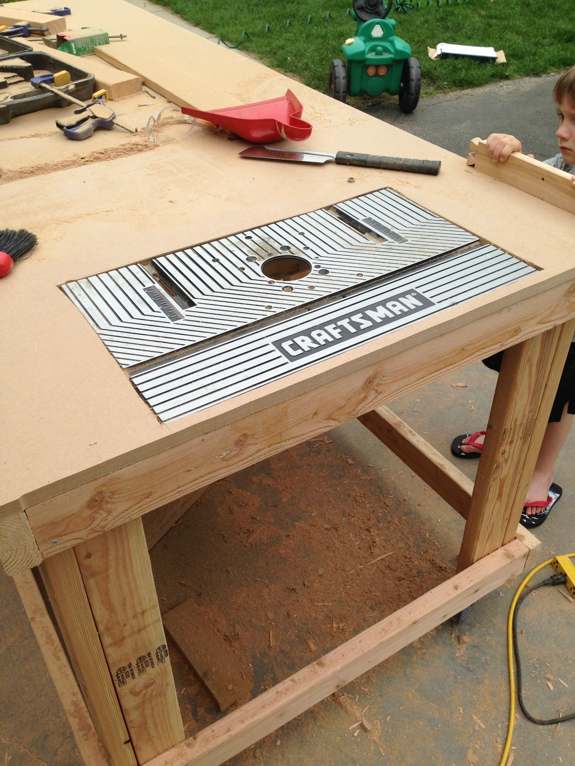Building your own wooden workbench make for Build your own building