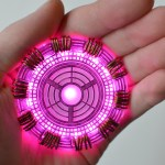 Why should genius billionaire playboy philanthropists have all the fun? Incorporate an Iron Man inspired arc reactor into a cosplay costume or y'know, just wear it around the house. Use a GEMMA, laser cut acrylic frame, and NeoPixels for this one. More info at: https://learn.adafruit.com/superhero-power-plant