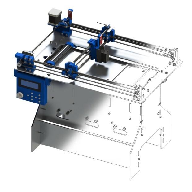 Plan b 3d printer diy ink jet based powder printing make for 3d printer plan