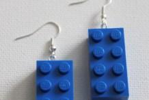 How-To: LEGO Earrings