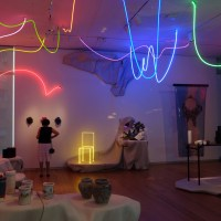 """""""in flux"""" quadrant on the 5th floor, featuring SITU Studio, papabubble New York, littleBits, Let There Be Neon, and many more"""