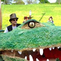 I've got a 51 foot crocodile. What're you riding?