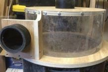 Cyclone Dust Separator Made From A Trash Can