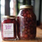 Pickle Grapes and Beets at Home