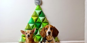 How-To: Geometric Paper Christmas Tree