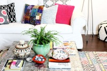 How-To: Faux Tin Tile Coffee Table