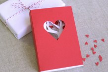 Flashback: Valentine's Day Matchbook Card
