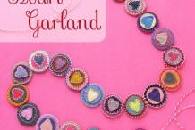 How-To: Felt Scrap Heart Garland