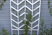 How-To: Chevron Garden Trellis