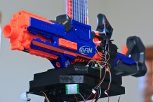 Foamland Security: Sibling-Proof Your Stuff With A Nerf Sentry Gun