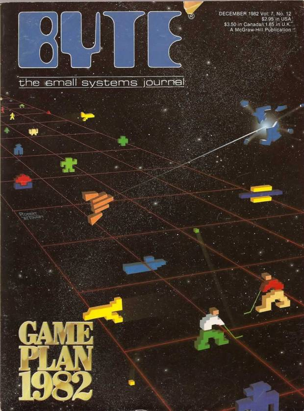 "Mike Senese Executive Editor -  ""Around the time that this issue was published, my family got our first computer, a Texas Instruments TI-99/4A. In between learning to program BASIC, my dad and I played hours of TI-Invaders on it, with spritely characters much like the ones on the cover of this BYTE. We still talk about our high scores."""