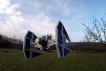 TIE Fighter Drone Mod is Coolest Since Millenium Falcon