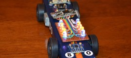 Arduino-Powered Pinewood Derby Race Car