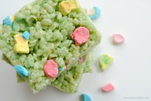 Make Magically Delicious St. Patrick's Day Rice Krispies Treats