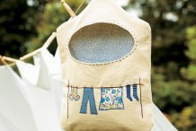 DIY Clothes Peg Bag