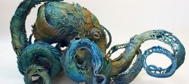 Animals and Plants Entwine in Mythical Sculptures