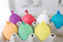 DIY Eggs That Look Like Balloons For Easter Birthdays