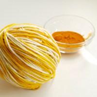 Dye Yarn with Turmeric