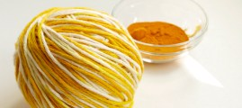 Dye Yarn with Turmeric