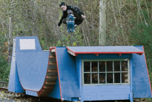Portable Skateboard Ramps Double as Train Car, Boat