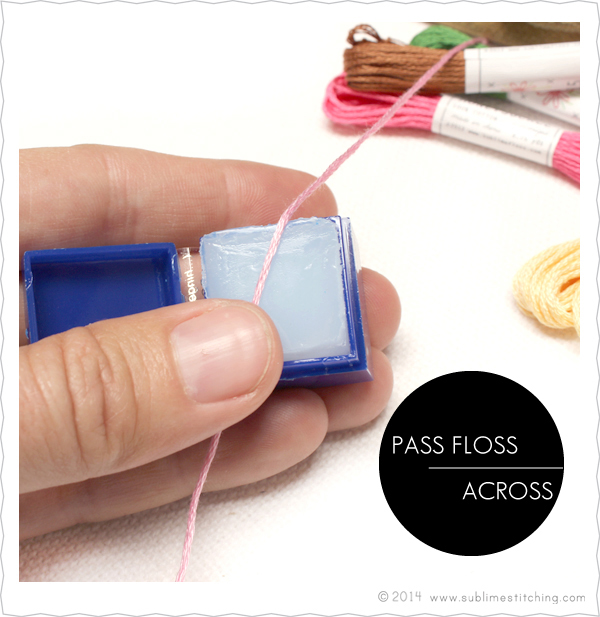 Embroidery Basics Floss Conditioning And Floss Stripping