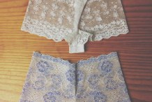 Sew It: DIY Lace Underwear