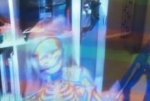 See Your Insides Animated Via Kinect with Your Anatomy