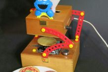 Decorate Desserts with a CNC Cookie Monster Spirograph Machine