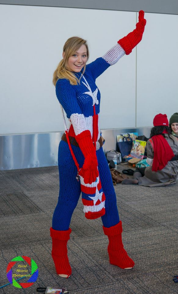 Comicstorewest make your own captain america costume remember the diy hulk costume we showed you maybe youd like to be captain america instead and maybe balloons arent your thing the answer knitting solutioingenieria Choice Image
