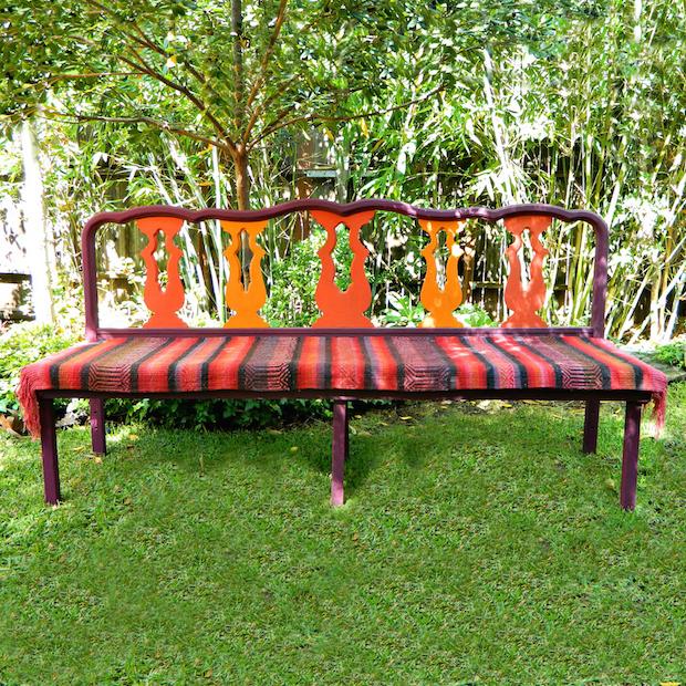 Diy seating transform a headboard into a stylish bench