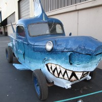The Shark Car cruises for human chum at the 2008 MFBA.